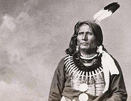 Standing Bear, circa 1877