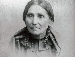 Susan's mother, Mary La Flesche, was also known as One Woman