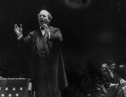 William Jennings Bryan in full oratorical splendor, July 3, 1908