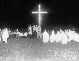 Ku Klux Klan rally outside of Lincoln, Nebraska; July 16, 1923, by L. W. Cook