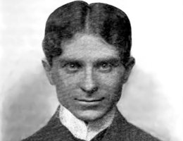 "Victor Rosewater (1871-1940), publisher of the ""Omaha Bee"" after his father's death in 1906 and a founder of the American Jewish Committee; Photo taken in 1903"