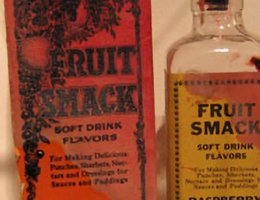 Fruit Smack, a liquid concentrate to be mixed with water