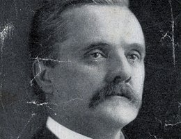 George Norris as a newly elected U.S. Senator, 1912