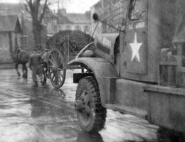 Photo of Army truck taken by Roger Peters while stationed in Germany